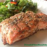 Sweet and Spicy Balsamic Salmon