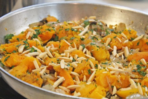 Cassolita: Moroccan Butternut Squash with Caramelized Onions