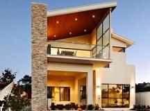 Casa de lux cu centura de piatra verticala - Fresh Home
