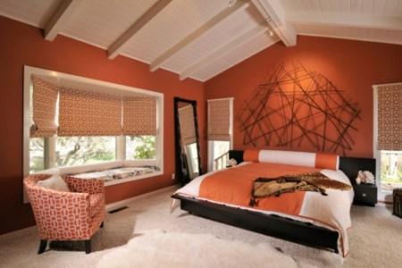 schlafzimmer farbideen tendenzen bei den farben im herbst