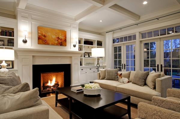 Wohnzimmer Ideen Elegant - Wohndesign