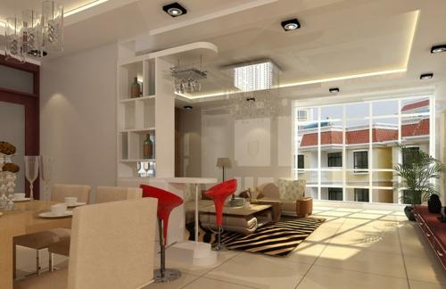 wohnzimmer deckengestaltung - wohndesign - Deckengestaltung Wohnzimmer Modern