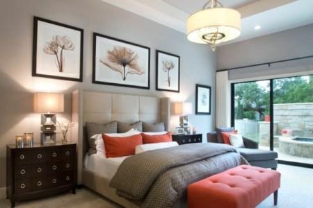 schlafzimmer farbideen neutral weie bettwsche bettbank wandart