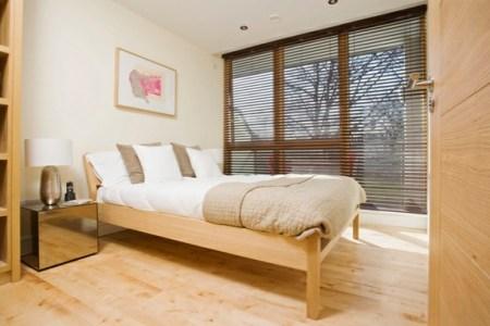 skandinavisches design schlafzimmer komplett einrichten holzen bett stores