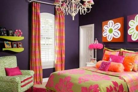 farbideen schlafzimmer farbige einrichtungsideen dekorative decke