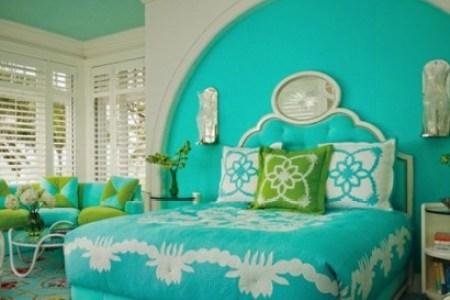 farbideen schlafzimmer farbige einrichtungsideen in t%c3%bcrkis 410x390