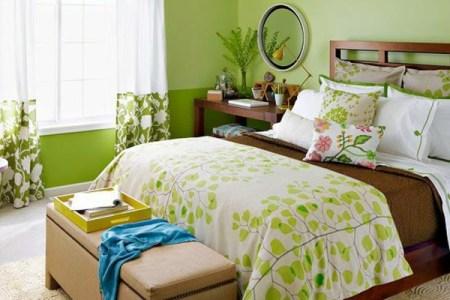 wandfarbe in gr%c3%bcn farbideen wandgestaltung schlafzimmer traditionell