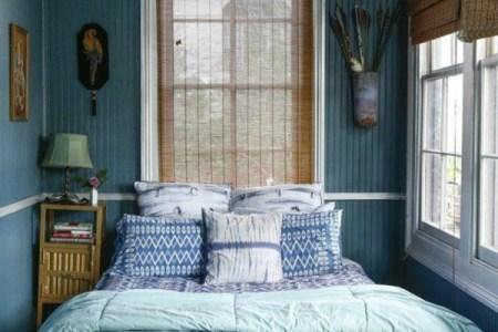 kleines schlafzimmer einrichten gr%c3%bcnnuancen schlafzimmerbank