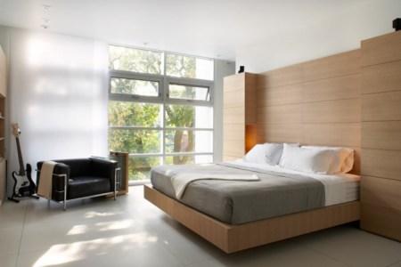 kleine zimmer einrichten gem%c3%bctliches schlafzimmer deckenbeleuchtung panoramafenster