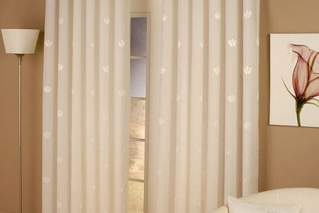 blickdichte gardinen elegant romantisch fenster sch%c3%bctzen dekorieren