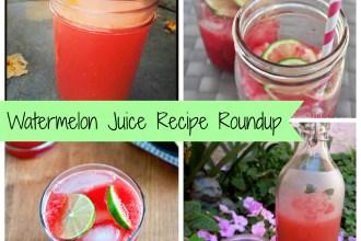 Watermelon Juice Recipe Roundup | Freshly Grown