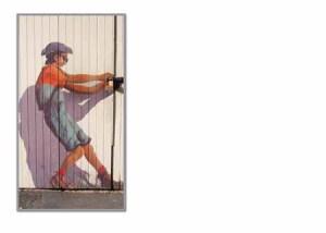 FC 313 nz street art open door