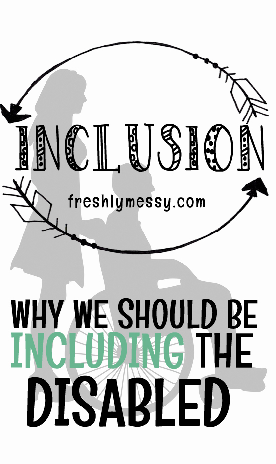 Two Reasons to Promote Inclusion of Special Needs