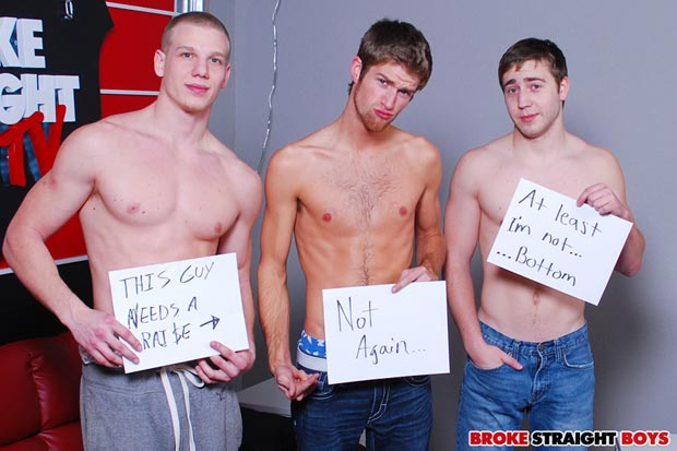 3-Way with Blake Bennet, Johnny Forza and Brandon Beal