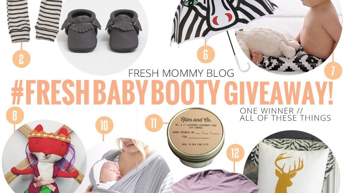 #FreshBabyBooty spring giveaway