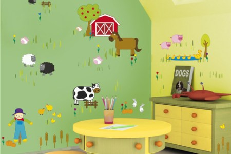 10 kids bedroom wall decor ideas | freshnist