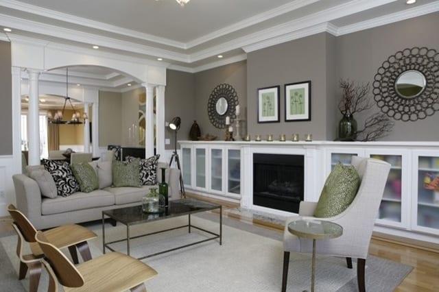 design : wohnzimmer braun beige streichen ~ inspirierende bilder ... - Wandfarbe Beige Braun