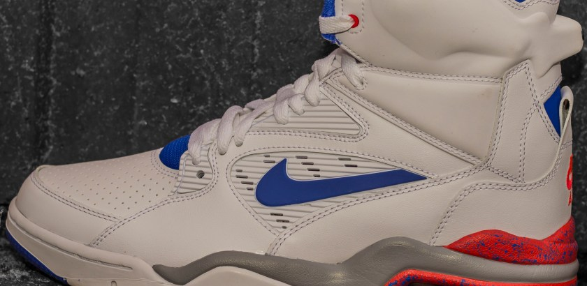Nike Air Command Force – White/Blue/Red