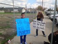 Protest March in Fresno California Against Police Brutality #BlackLivesMatter