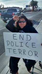 Fresno Police Brutality Protest