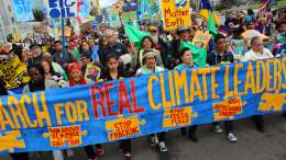 March for Real Climate Leadership - Oakland, CA