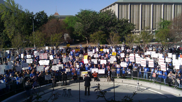 Fresno Rally And Hearing