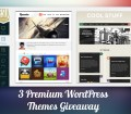Giveaway of 3 Premium TeslaThemes WordPress Themes