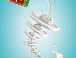 Twist Milk Ads