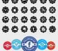 SocialPik Icon Set: 60 Free Social Media Icons