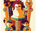 Wonderful Animation Movie Posters by Tom Whalen