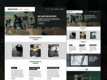 Kickflips Free Website Template