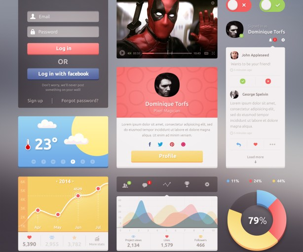 Candy Free UI Kit