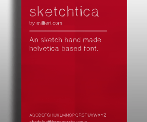 Sketchtica Free Font
