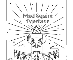 Mad Squire Free Typeface