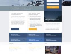 Profile - A Free Website Template