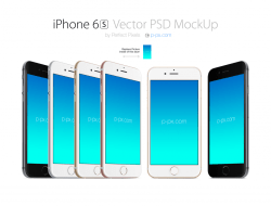 iPhone 6S - iPhone 6S Plus Free Mockups
