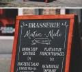 A-Frame Chalkboard Menu MockUp