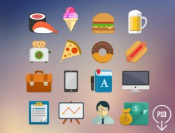 Free Flat Icons Set