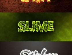 Free Text Effect Pack 3