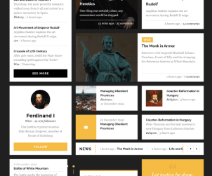 Habsburg Free Clean UI Kit