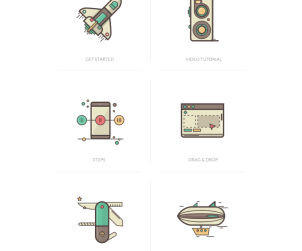 Illons - 20 Free Tutorial Icons
