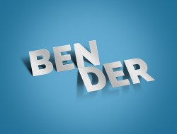Bender Text Effect