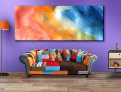 Living Room Wall Art Mockup
