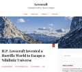 Lovecraft Two Column WordPress Theme For Bloggers
