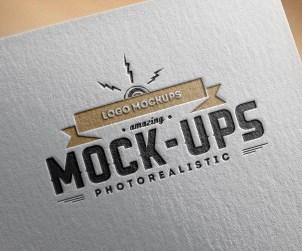 Free Logo Mockup Presentation
