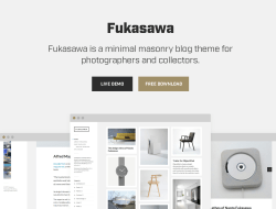 Fukasawa Free Responsive Masonry Blog WordPress Theme