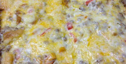 King's Hawaiian Roll Sausage Breakfast Casserole Recipe