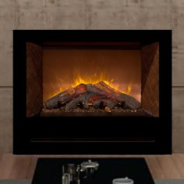 Modern Flame Home Fire Logset 42