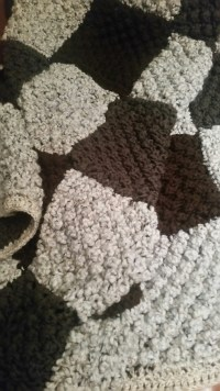 Blackberry Stitch Blanket