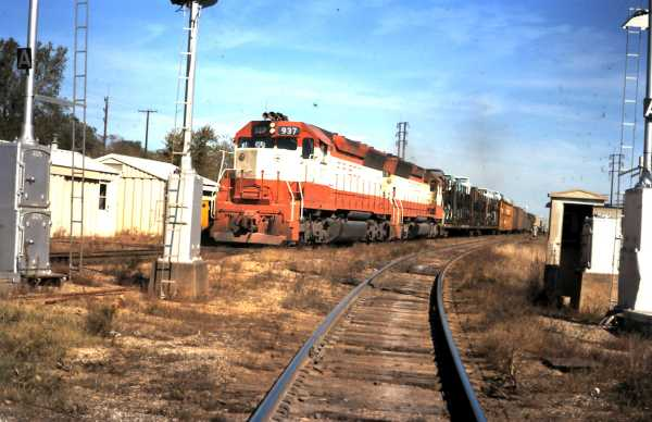 SD45 937 (date and location unknown)